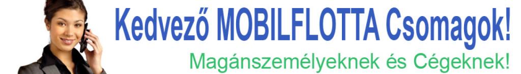 Mobilflotta magánszemélyeknek és cégeknek